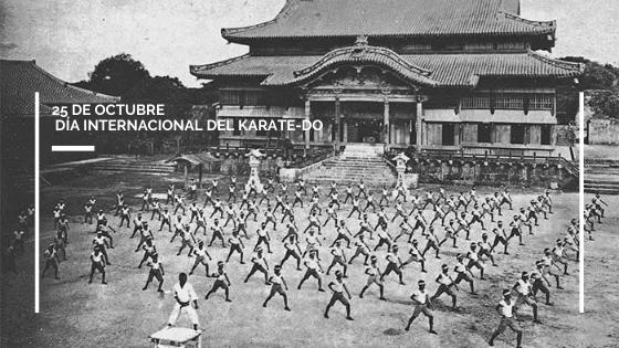 25 de octubre, día Internacional del Karate-Do